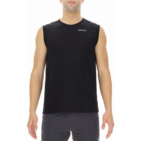 UYN Airstream Sleeveless Running Shirt Men, black